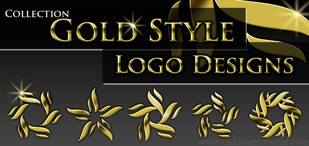 New Collection of Gold Logo Designs and Business Card Templates